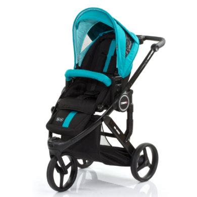 ABC Design Kinderwagen Cobra plus CORAL - blau