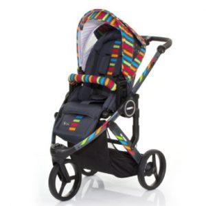 ABC Design Kinderwagen Cobra plus RAINBOW - bunt