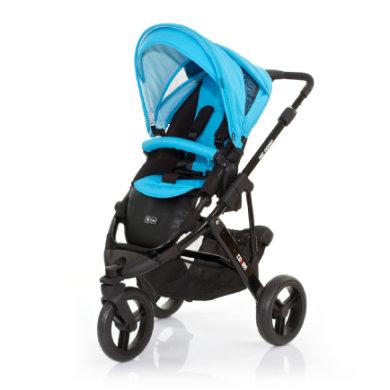 ABC Design Kinderwagen Cobra rio Gestell black / black - blau