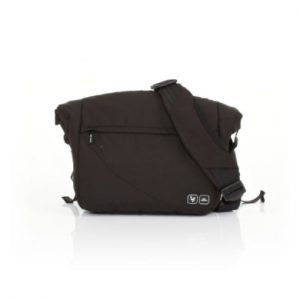 ABC Design Wickeltasche Courier black - schwarz