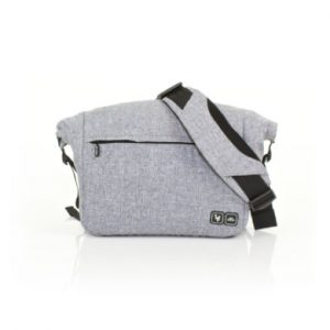 ABC Design Wickeltasche Courier graphite - grau
