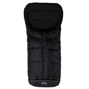 Altabebe Winterfußsack Active XL mit ABS für Kinderwagen Schwarz-Schwarz - schwarz