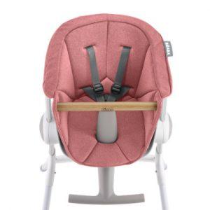 BEABA Sitzpolster für Hochstuhl Up & Down rosa - rosa/pink