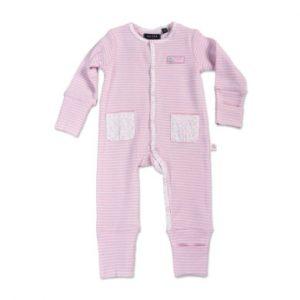 Blue Seven Girls Strampler rosa gestreift - rosa/pink - Gr.Newborn (0 - 6 Monate) - Mädchen