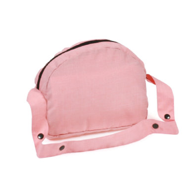 CHIC 2000 BAYER Puppen-Wickeltasche, Melange Apricot - rosa/pink