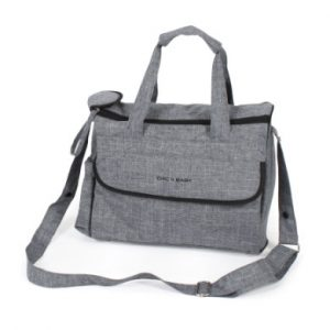 CHIC 4 BABY Wickeltasche Komfort Jeans grey - grau