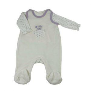 DIMO Strampler Set DOTS - Gr.Babymode (6 - 24 Monate) - Unisex
