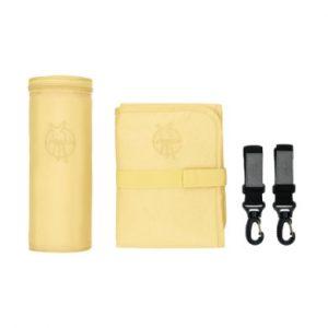 LÄSSIG Wickeltasche Glam Signature Bag Accessories popcorn - gelb