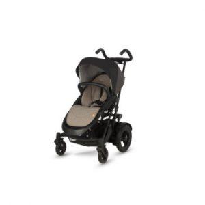 Micralite Kinderwagen TwoFold Carbon - schwarz