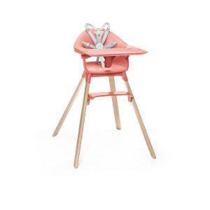 STOKKE ® CLIKK™ Hochstuhl Sunny Coral - rosa/pink