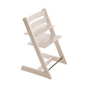 STOKKE ® Tripp Trapp® Hochstuhl Buche weiß transparent