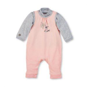 Sterntaler Strampler-Set Jersey Emmi Girl zartrosa - rosa/pink - Gr.62 - Mädchen