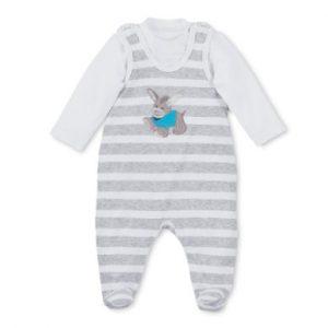 Sterntaler Strampler-Set Jersey Erik weiß - Gr.Newborn (0 - 6 Monate) - Unisex