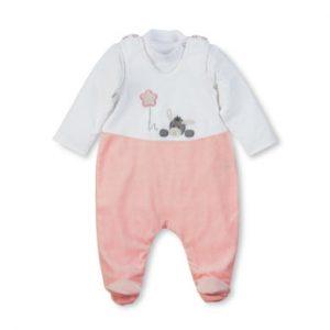 Sterntaler Strampler-Set Nicki Emmi Girl weiß - Gr.Newborn (0 - 6 Monate) - Mädchen