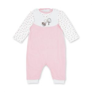 Sterntaler Strampler-Set Nicki Waldis Hoppel rosa - rosa/pink - Gr.Newborn (0 - 6 Monate) - Mädchen
