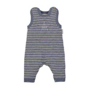 Sterntaler Strick Strampler graublau - Gr.Newborn (0 - 6 Monate) - Unisex