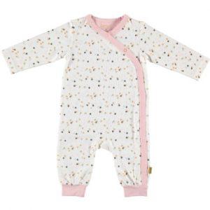 b.e.s.s Strampler Confetti white - weiß - Gr.Newborn (0 - 6 Monate) - Mädchen