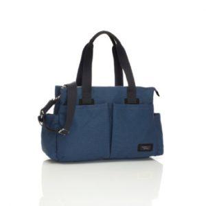 storksak Wickeltasche Shoulder Bag Navy - blau