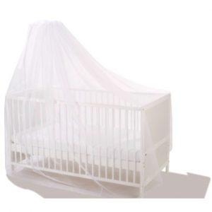 Alvi Mückennetz für Babybetten - weiß
