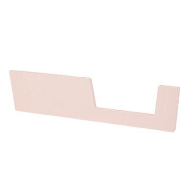 Done by Deer™ Einstiegsschutz für 60 x 120 cm Babybett Puder - rosa/pink