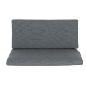 Schardt Sitz- und Rückenpolster grau für Schrank-Wickelkommode Holly