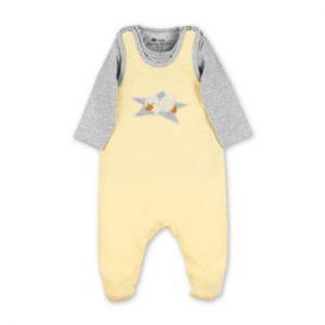 Sterntaler Strampler-Set Jersey Edda gelb - Gr.Newborn (0 - 6 Monate) - Unisex