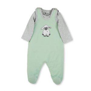 Sterntaler Strampler-Set Jersey Stanley hellgrün - Gr.Newborn (0 - 6 Monate) - Unisex