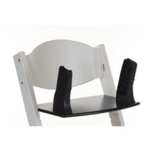 Treppy ® Babyschalen Adapter für Hochstuhl - schwarz