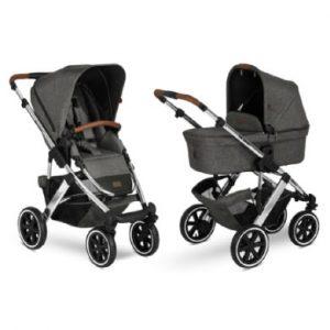 ABC DESIGN Kinderwagen Salsa 4 Air Diamond Special Edition Asphalt