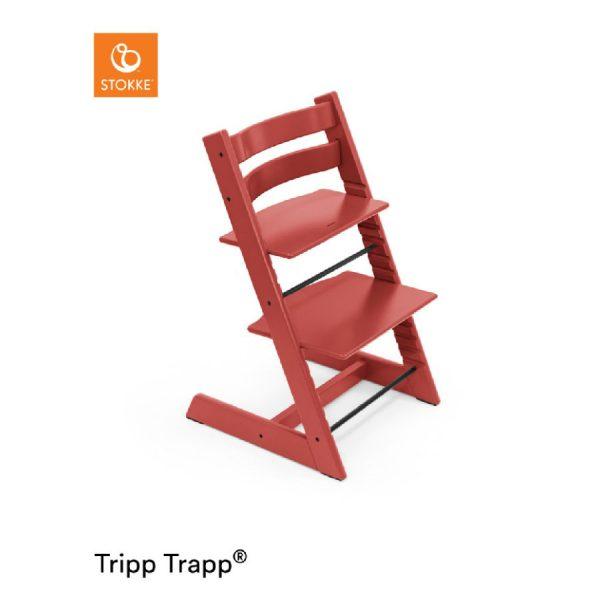 STOKKE® Tripp Trapp® Hochstuhl Buche Warm Red