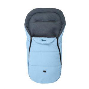 Altabebe Sommerfußsack Mesh Liefeline für Kinderwagen hellblau