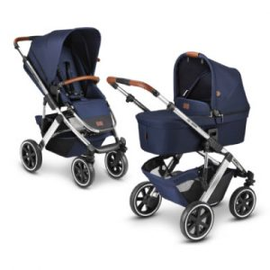 ABC DESIGN Kinderwagen Salsa 4 Air Navy Diamond Edition Kollektion 2021