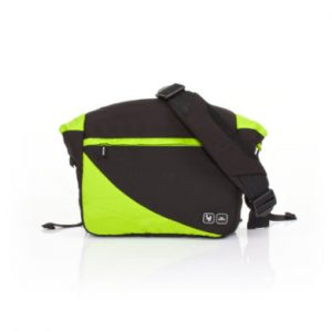 ABC DESIGN Wickeltasche Courier lime