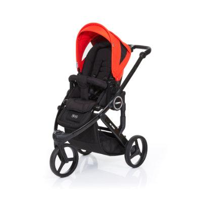 ABC DESIGN Kinderwagen Cobra plus black-flame, Gestell black / Sitz black